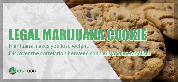 legal marijuana cookie