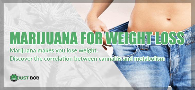 marijuana weight loss