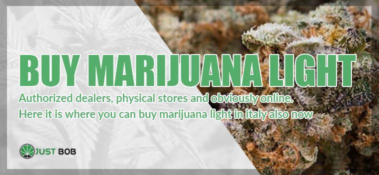 buy marijuana light in italy