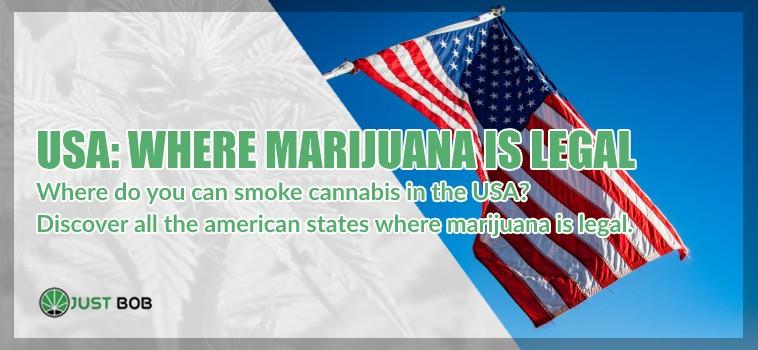 american states where marijuana is legal