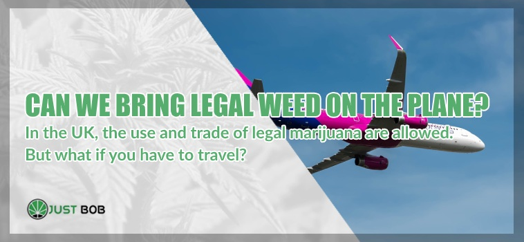legal weed on the plane