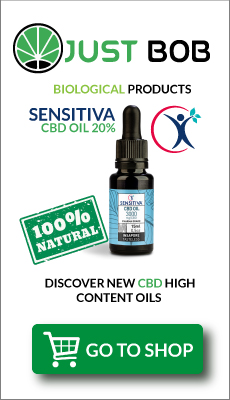 Bottle 20% CBD Oil-Sensitiva