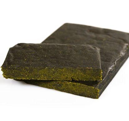 two pieces of Legal hashish 20% cbd gorilla glue