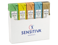 Kit of 5 packs of CBD Oil Sensitiva